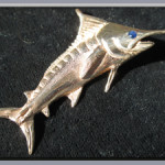 Sailfish-14K-Gold-Blue-Saphire-Pendant2