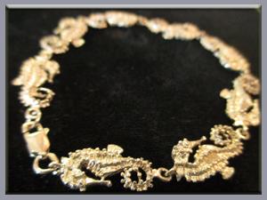 Seahorse-Bracelet--Sterling-Silver