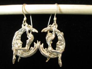 lady-man-moon-silver-earrings-steves-jewelry-port-aransas-tx