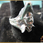 Sterling Silver Mens Pirate Ring