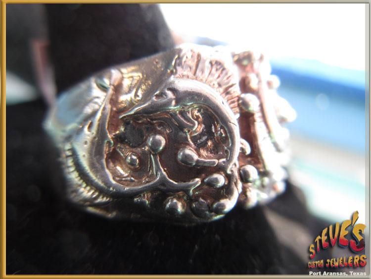 Mens-Silver-Sailfish-Ring-162-B
