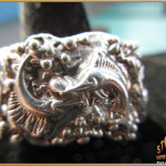 Sterling Silver Men's Sailfish and Marlin Ring