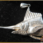 Marlin Pendant Sterling Silver